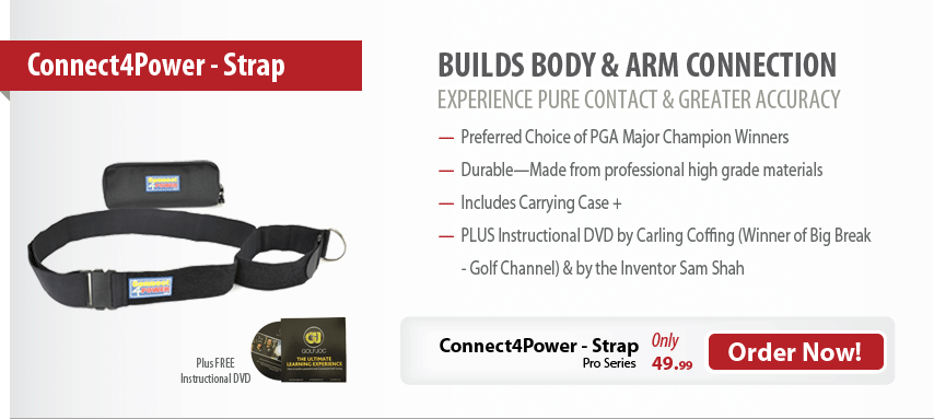 Connet4Powr - Golf Training Aid - Body Arm Connect For Powerful Golf Swing