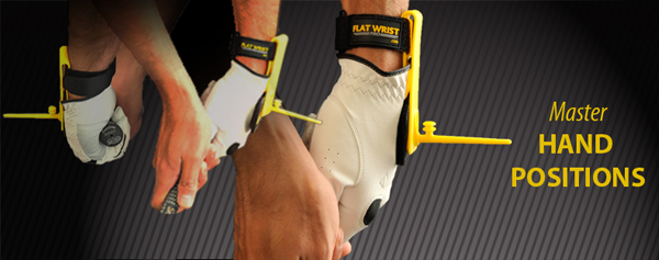 Flat Wrist Training Aid - Promotes Falt Wrist Through Impact Zone