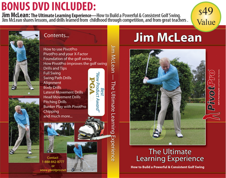"PivotPro - Jim McLean ""The Ultimate Learning Experience"" (Limited Time Promotion)"